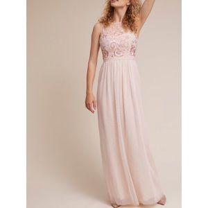 BHLDN Baldwin Floral Bridesmaid Wedding Dress